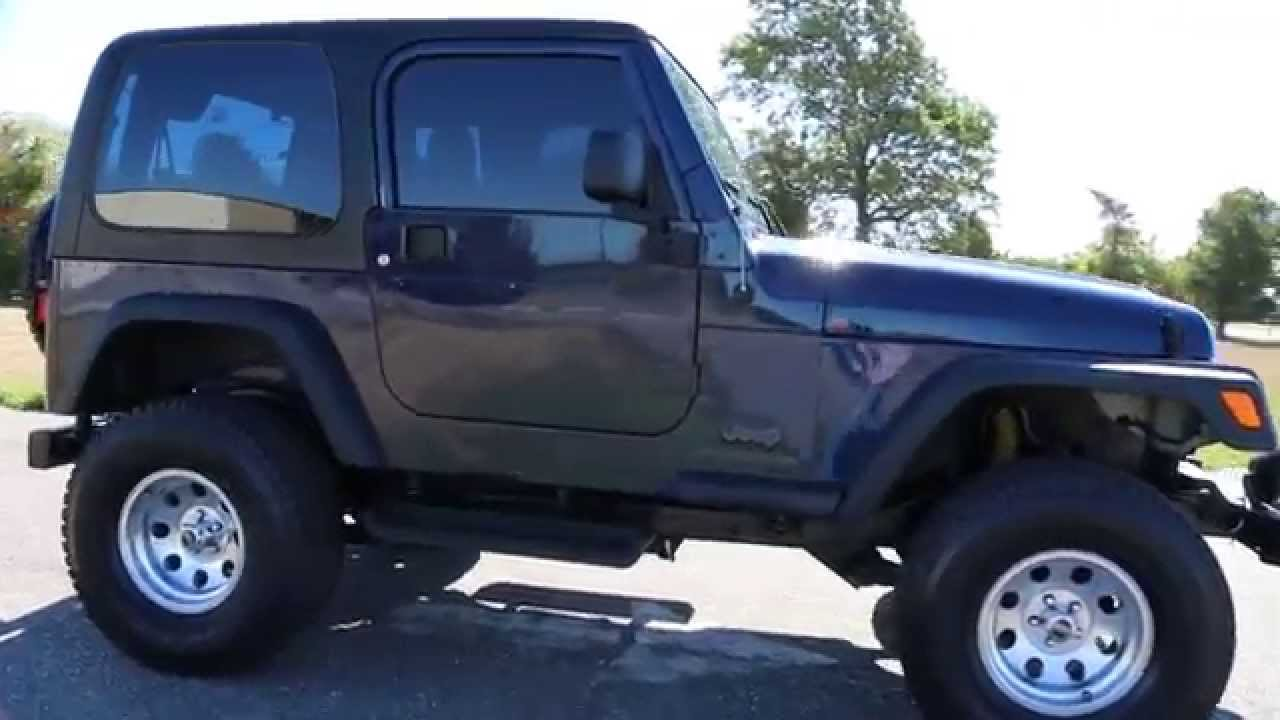 2006 Jeep Wrangler X For Sale~6 Speed Manual~Custom Rims U0026 Stereo~LOW MILES