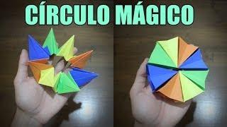 Como Fazer um Círculo Mágico - Origami