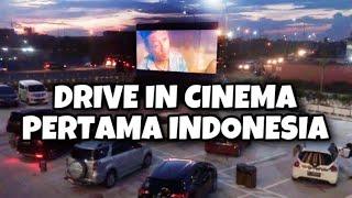 DRIVE IN CINEMA MEIKARTA PERTAMA DI INDONESIA | Nonton di dalem mobil?