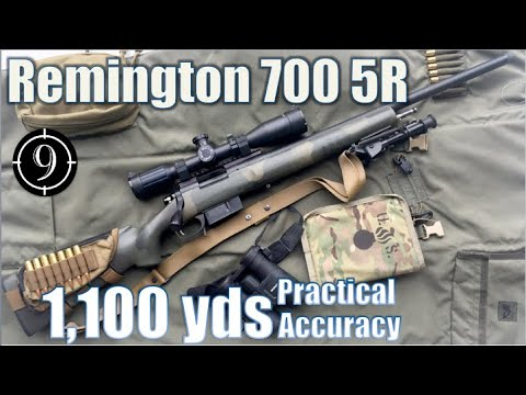 R700 5R to 1,100yds/ .308Win: Practical Accuracy (Remington M40 M24 sniper base + SWFA 10x42)
