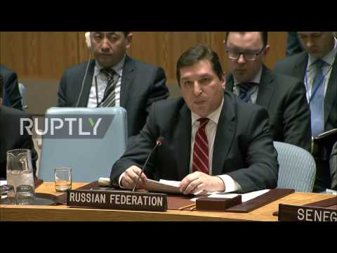 UN: 'US aggression facilitates the strengthening of terrorism' - Russia attacks US at UNSC