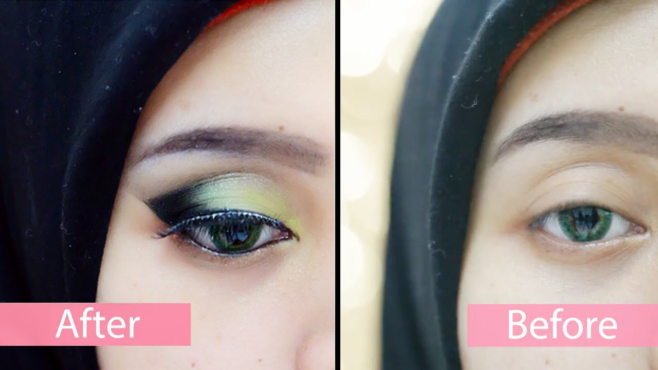 Tutorial Fairy Forest Make Up Hijab Youtube