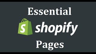 6 Pages Every Shopify Store Should Have