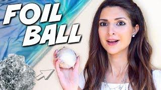JAPANESE FOIL BALL CHALLENGE | SoCraftastic