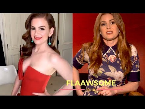 What Happens When Isla Fisher's Dress RIPS ★ At Her Bottom ★