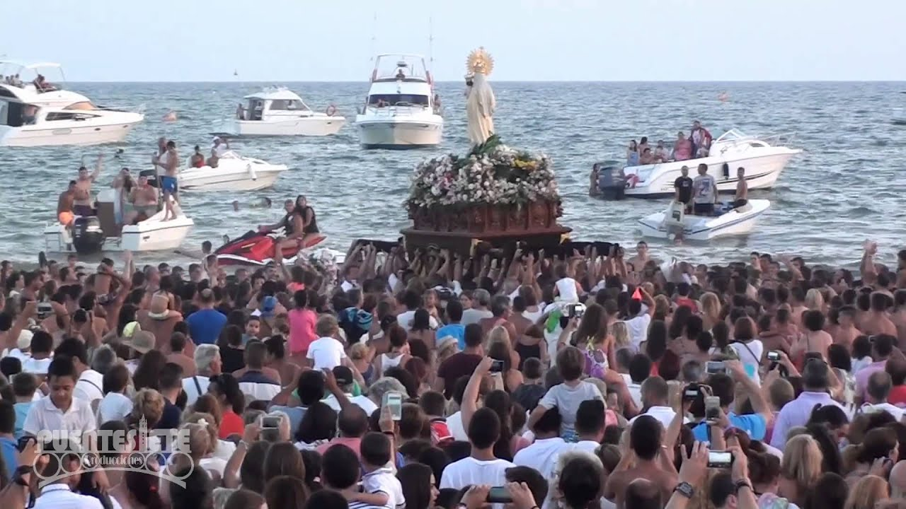 Resultado de imagen de virgen del Carmen Punta umbria