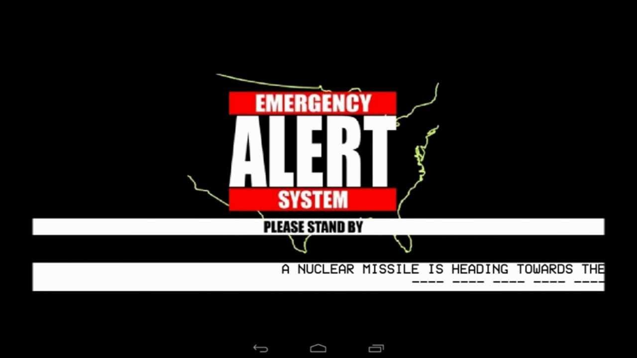Eas Simulator App Nuclear Attack Long Island New York