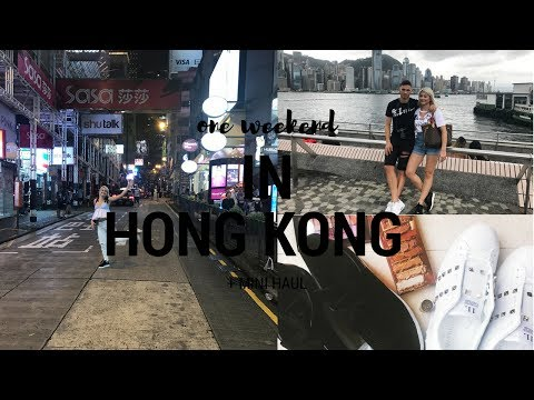 A WEEKEND WITH ME IN HONGKONG (VLOG) +MINI HAUL || GIO DREVELI || GREEK VIDEO