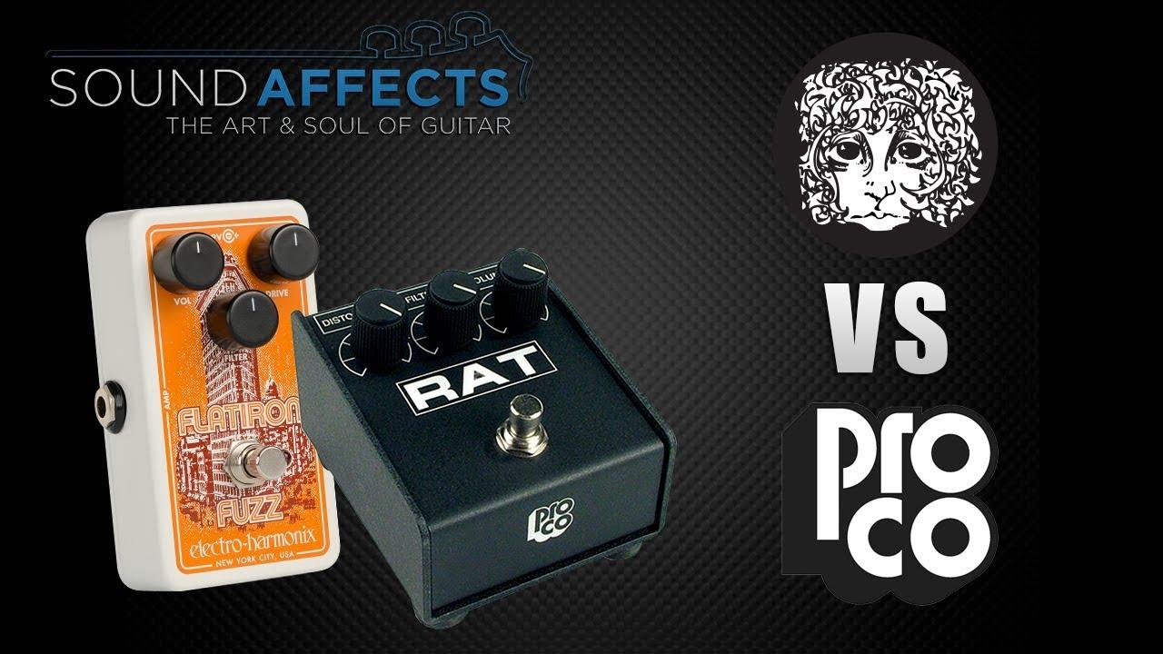 Electro Harmonix Flatiron Fuzz /& Distortion Pedal