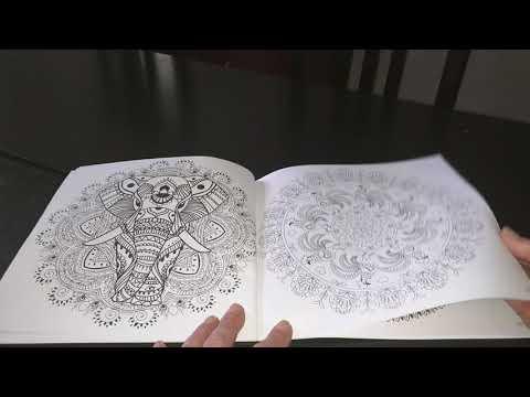 Revue Coloriage Adulte.Livre De Coloriage Anti Stress Adulte Mandalas Anbiance Zen Revue