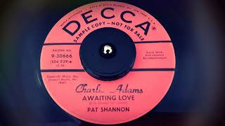 TEEN Pat Shannon - Awaiting Love (1958)