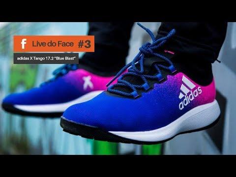 Tênis Adidas X Tango 16.2 e Boné do Pogba