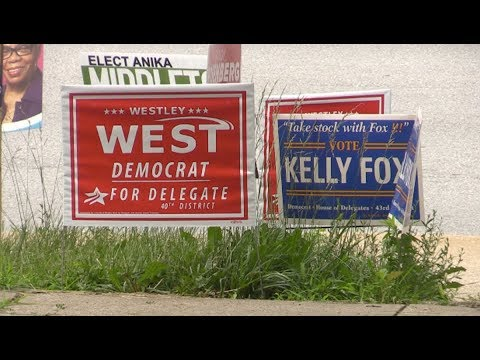 MD Voters Weigh-in on Progressive vs. Establishment Showdown