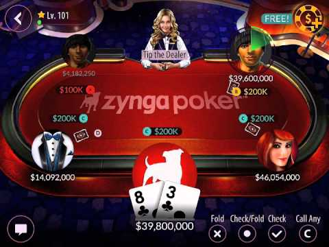 Playing Flush Draws in Zynga Poker