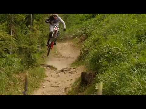 The new Gambler 710 with Brendan Fairclough in Schladming