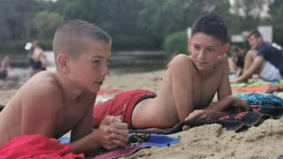 CZ14-Regiocamp z Szabelkami-Wawrzkowizna 2019-Obóz Piłkarski - 12 07 2019 - Nad wodą