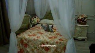 видео Балдахин над кроватью, взрослой и детской: как сделать своими руками (фото)