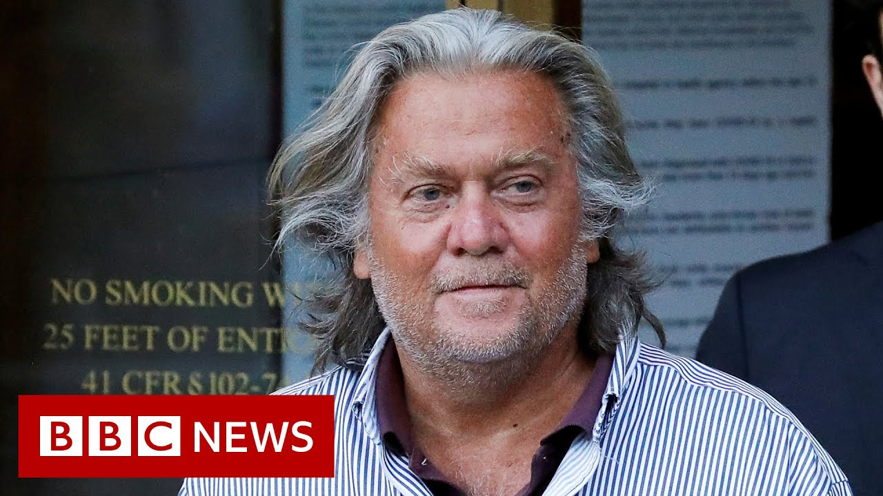 Download Capitol riot committee to investigate Donald Trump ally Steve Bannon - BBC News