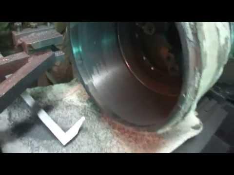 видео: Расточка тормозных барабанов
