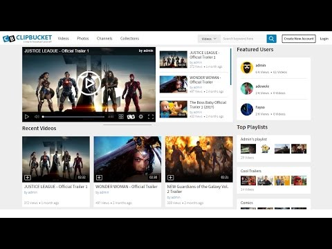 How To Make A Website Like YouTube | Create A Video Sharing Website 2017