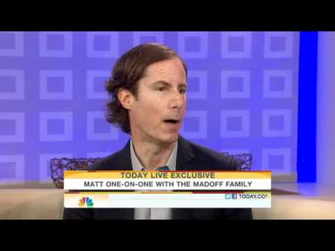 Matt Lauer Interviews Ruth and Andrew Madoff