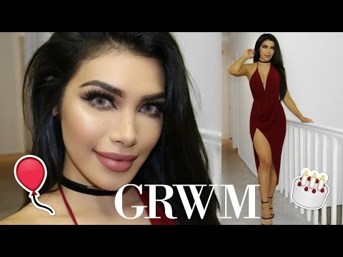 GRWM: Birthday Makeup + Outfit