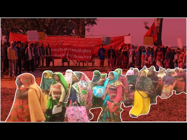 Hundreds Of Adivasi Activists Gather To Protest Against Farm Laws