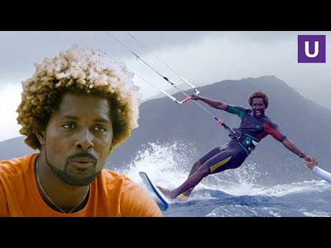 Mitu Monteiro Kitesurfing 12 Volcanic Islands In Cape Verde Completely Solo | Unstoppable