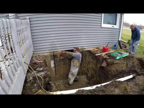 Egress Window Installation on an existing foundation