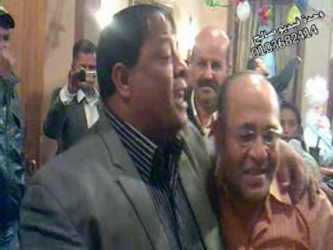 النجم عبد الباسط حموده اثناء التصوير فيديو صالح