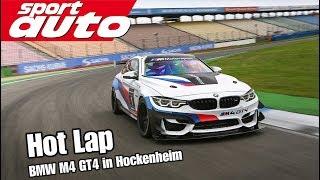 BMW M4 GT4: Schnellster BMW in Hockenheim! Tracktest Kleiner Kurs sport auto