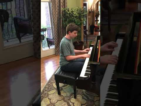 Amazing Grace Piano Solo Played By Grant Banks