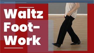 Waltz Footwork Tip - Technique For Basic Waltz Steps