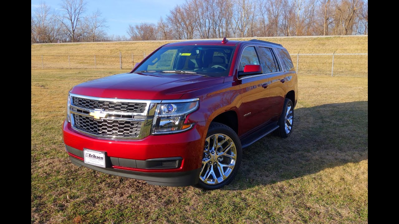 20162017 Chevrolet Tahoe LT Walkaround  Interior Tour  YouTube