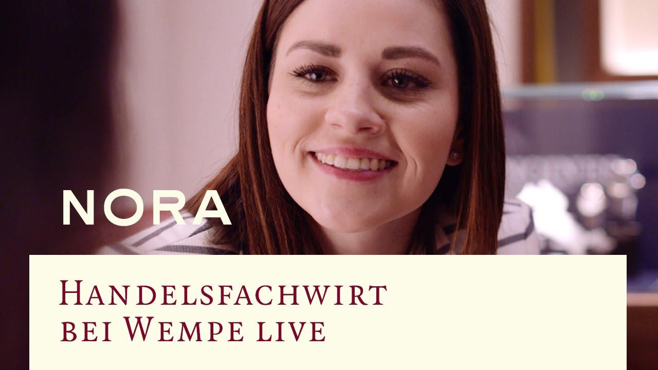 Handelsfachwirt Bei Wempe Live Nora Youtube