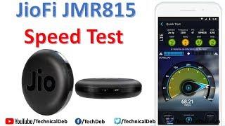 JioFi JMR815 Speed Test