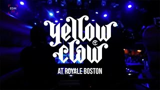 Yellow Claw At The Royale Boston | Recap Video |