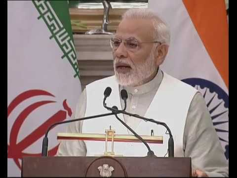 Download PM Modi's Speech at the Joint Press Meet with President of Iran Hassan Rouhani | PMO