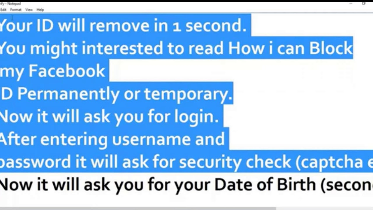 How To Create Facebook Verified Id How to make Verified Facebook