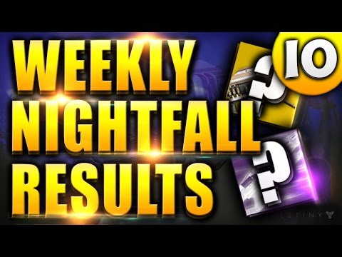 nightfall matchmaking destiny 2