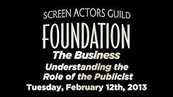 The Business: Understanding the Role of the Publicist