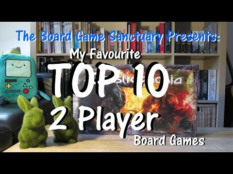 Top 10 Favourite Two Player Board Games