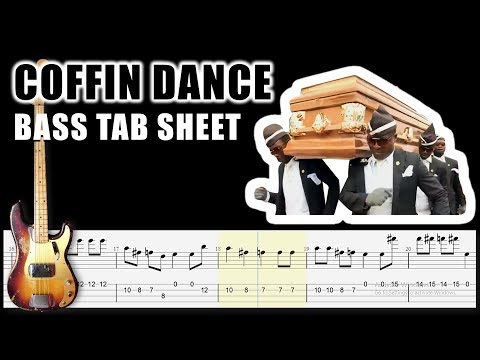 Coffin Dance Meme Astronomia Bass Tabs Tutorial By Chami S