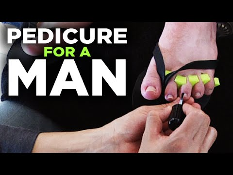 Men's Pedicure — Relaxing Grooming and Massage of the Feet | Style Progress