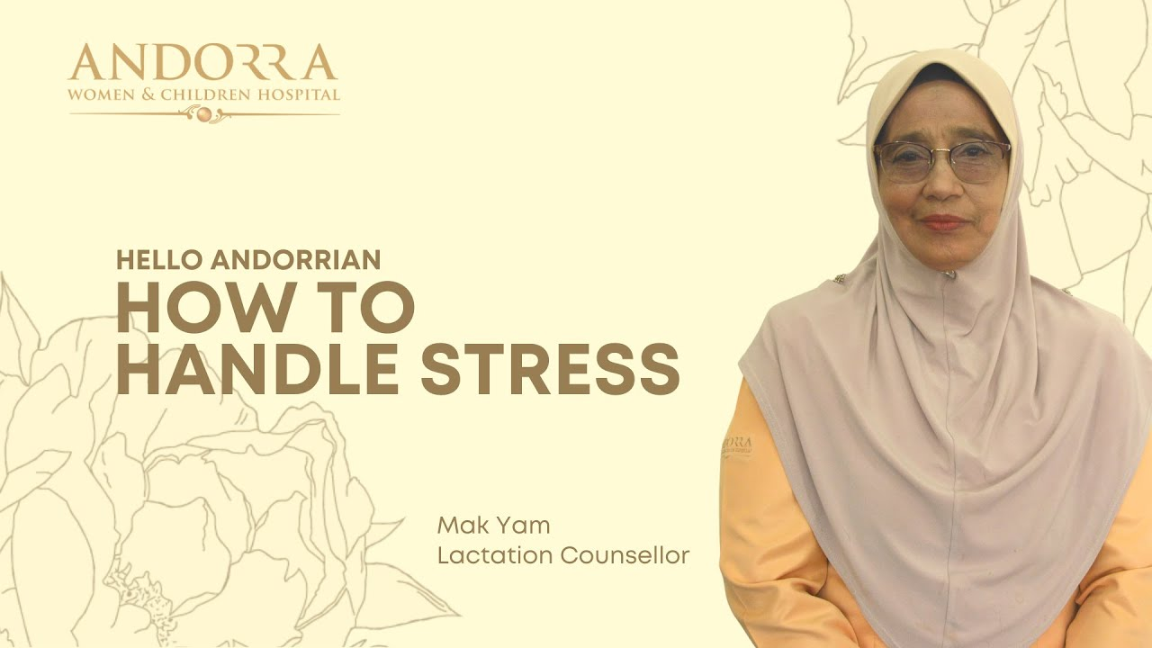 HELLO ANDORRIAN: Mak Yam's Advice on Stress Management