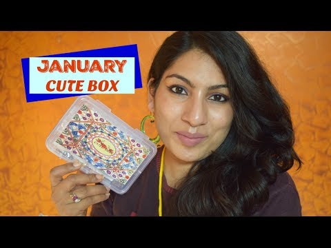 Cute Box January 2018 Unboxing+ Review| Affordable Jewelry Box in India + Free Giift