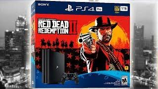 COMPREI PS4 4 PRO BUNDLE RED DEAD REDEMPTION 2 EM Nova Iorque!!!