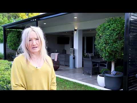 Stratco Customer talks about her Patio