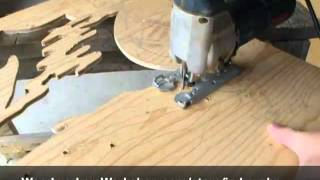 Pattern Making With Sheila Landry, Jig Sawing Forest Leaf Fl123 - 1