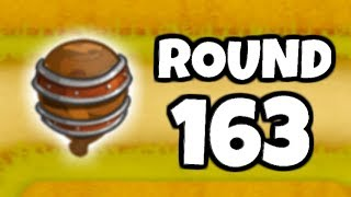 How Hard Is It To Beat Round 163? (Bloons TD 6)